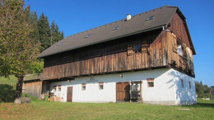 Museumsgebäude in Oberdorf/Zgornja vas