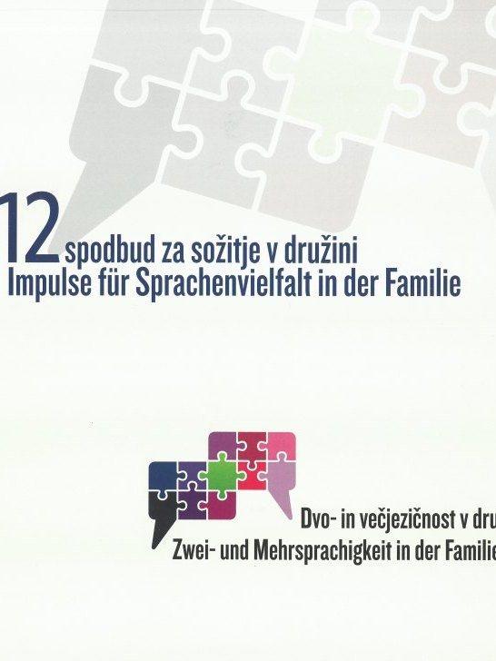 Cover: Iniciativa »Dvo- in večjezičnost v družini«