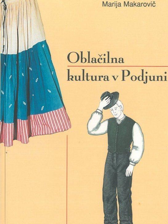 Cover: Oblačilna kultura v Podjuni}