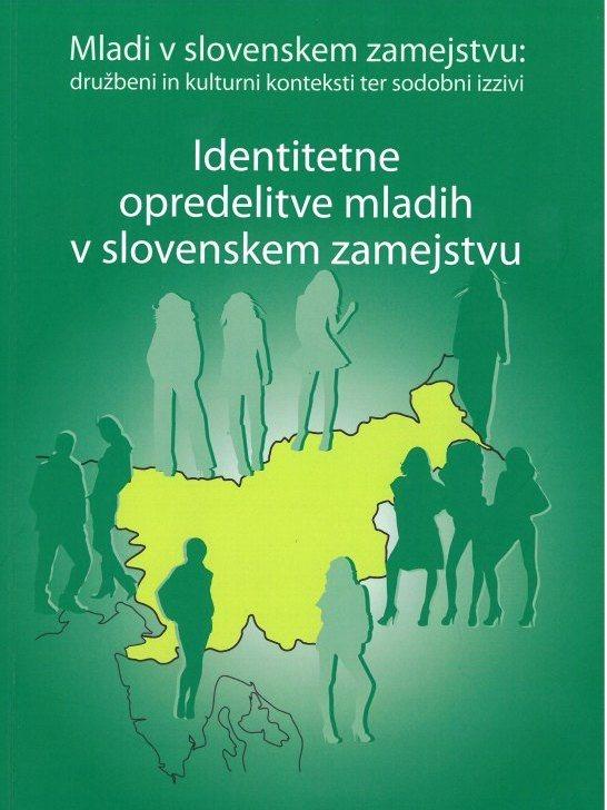 Cover: Identitetne opredelitve mladih v slovenskem zamejstvu}