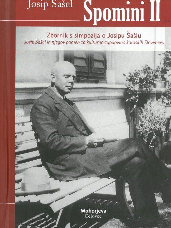 Cover: Josip Šašel. Spomini II}