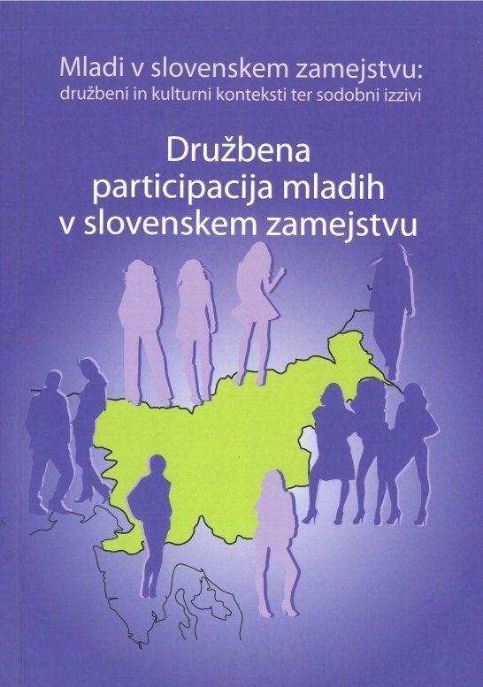 Cover: Družbena participacija mladih v slovenskem zamejstvu