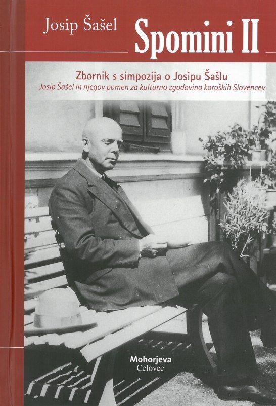 Cover: Josip Šašel. Spomini II