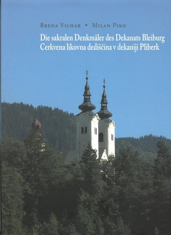 Cover: Cerkvena likovna dediščina v dekaniji Pliberk