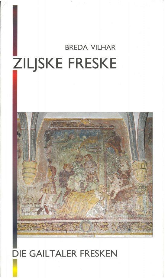 Cover: Ziljske freske – Die Gailtaler Fresken