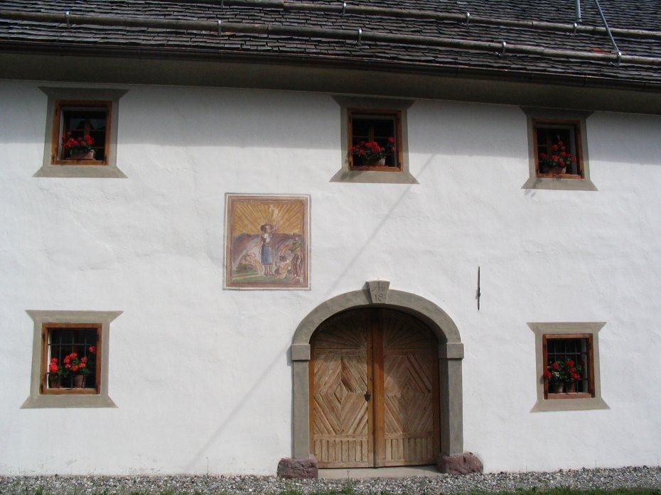 Image: Fasada hiše v Čačah