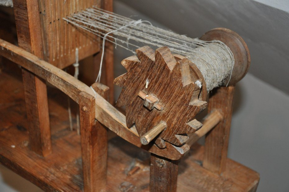 Image: Stol za tkanje trakov, foto: Martina Piko-Rustia
