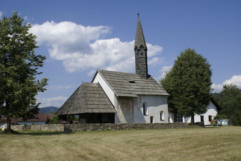 Image: Podružnična cerkev sv. Boštjana v Dobu, foto: Milan Piko
