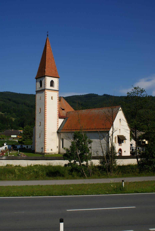 Image: Filialkirche Maria Himmelfahrt in Einersdorf/Nonča vas, Foto: Milan Piko