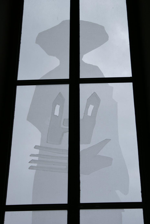 Image: Hemino okno umetnika Karla Vouka v farni cerkvi v Pliberku, foto: Milan Piko