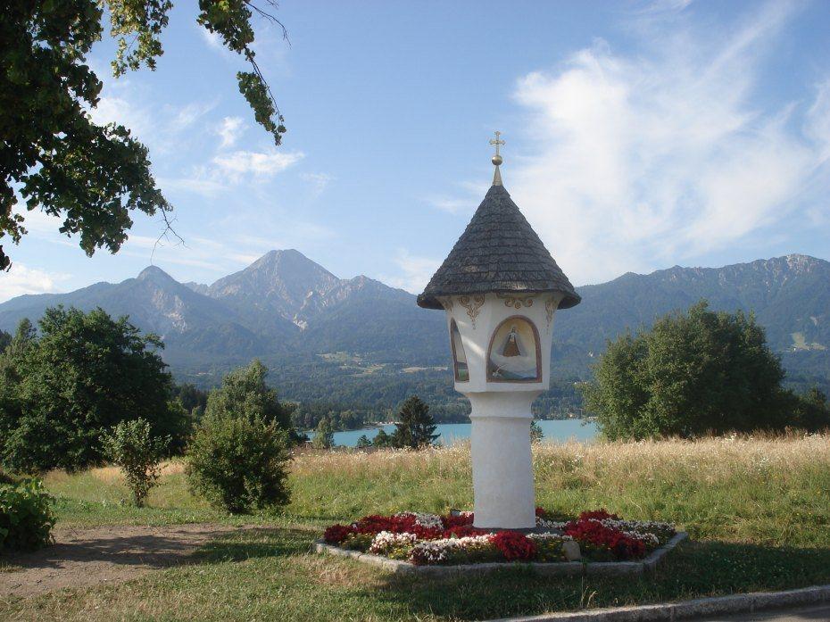 Image: Slopno znamenje na Brdu ob Baškem jezeru