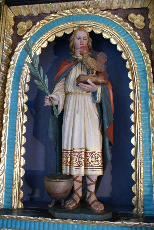 Image: v cerkvi sv. Marjete na Komlju, foto: Milan Piko