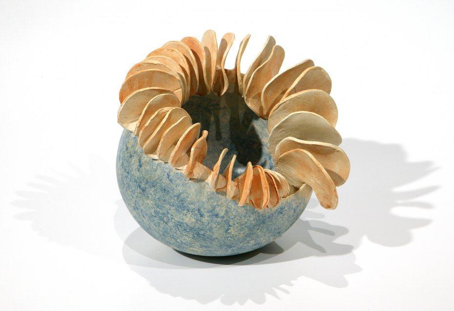 Image: Zalika Steiner, Keramik-Objekt, Foto: Tomo Weiss